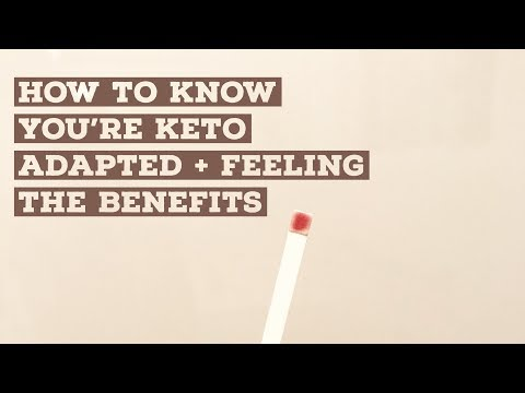 HOW TO KNOW YOU'RE KETO ADAPTED + THE BENEFITS