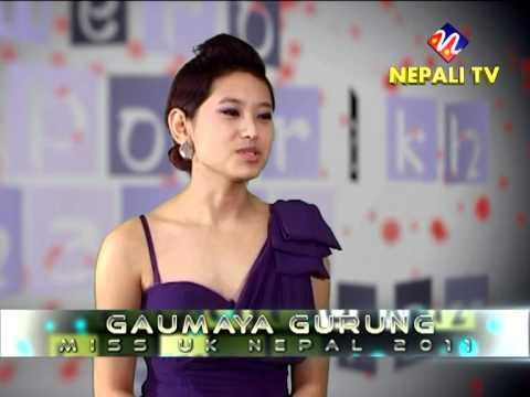 Nepali TV interviews Miss UK Nepal 2011 part 1 - YouTube