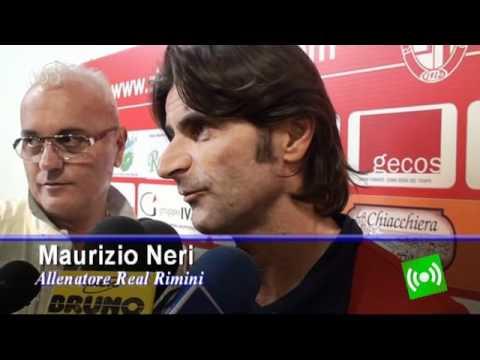 Calcio interviste dopo gara Rimini 1912 - Real Rimini