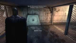 Batman: Arkham Asylum - Walkthrough Part 2 - Escape from Intensive Treatment