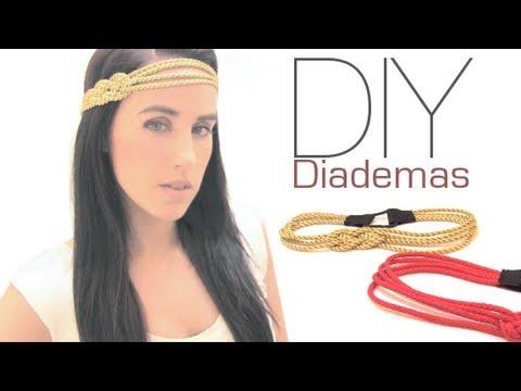 Crea tus propias diademas youtube for Diademas de tela para el cabello