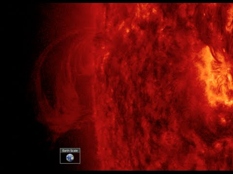 Plasma Filament Faces Earth, Solar Affects   S0 News Mar.27.2016