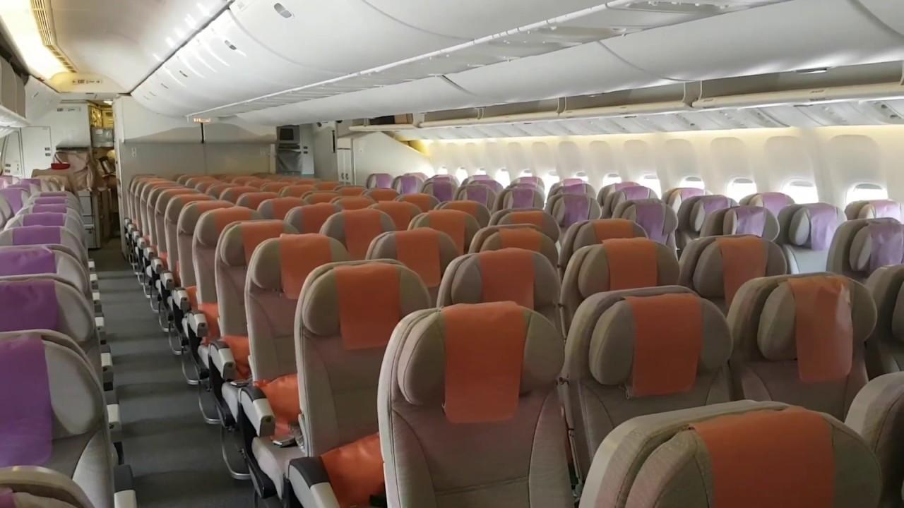 Emirates Boeing 777 200 Economy Cabin
