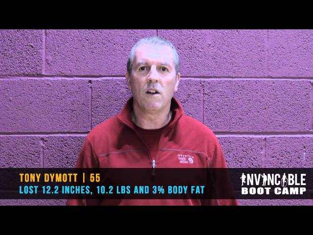 Tony Dymott Invincible Bootcamp Testimonial