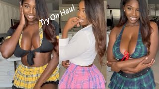 Amazon School Girl Outfit Try-On Haul (Ellie The Empress)