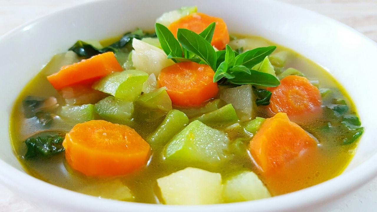 Dieta de sopa para bajar de peso