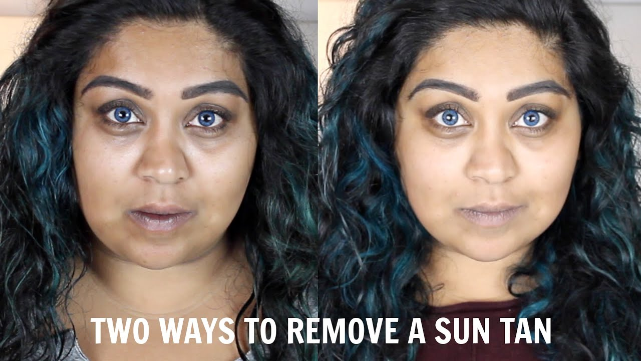 Natural Ways To Remove Tan From Face