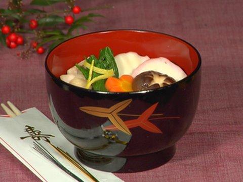 How To Make Ozoni Japanese New Year Mochi Soup Recipe ÁŠé›'煮の作り方 ìシピ Youtube