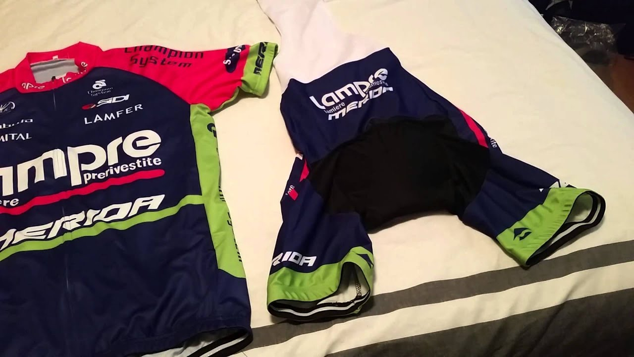 Review Video... Cycling kit from aliexpress.com - YouTube 518592740