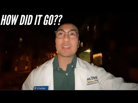 MY LIFE AS A UCSD PHARMACY STUDENT