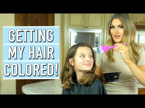Getting My Hair Colored! ft. Paige Danielle | Hayley LeBlanc