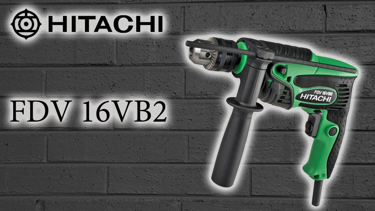 Электродрель Hitachi