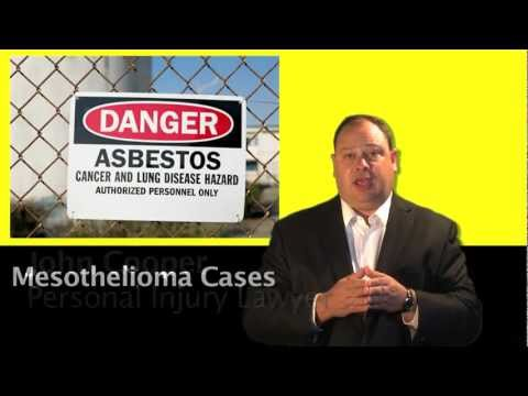 VA Beach Injury Lawyer John Cooper on Mesothelioma Caused by Asbestos