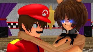 [MMD X Super Mario X Five Nights in Anime] Binch Meme