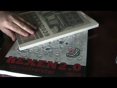 Unboxing Art Supplies, Weird Books and Tarot by Grün Eule