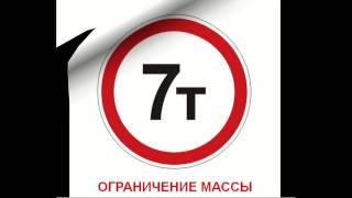 Дорожные знаки для детей (Запрещающие знаки)