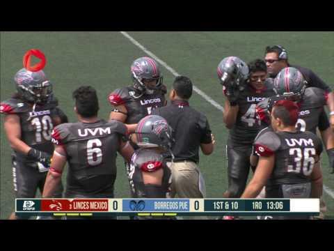 PARTIDO COMPLETO Linces UVM Mexico vs Borregos ITESM Puebla 17Sep2016