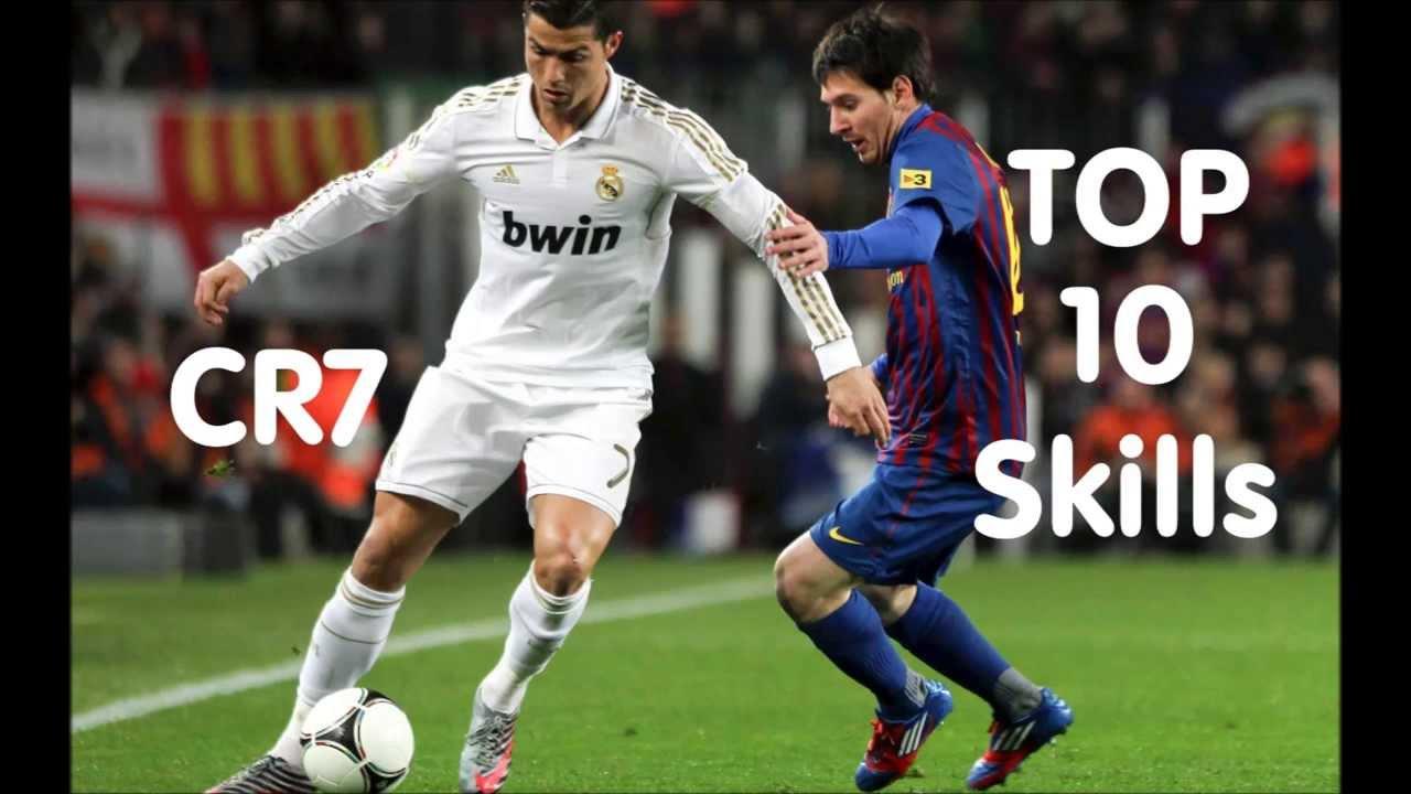 Cristiano Ronaldo Top 10 Skills Hd Youtube