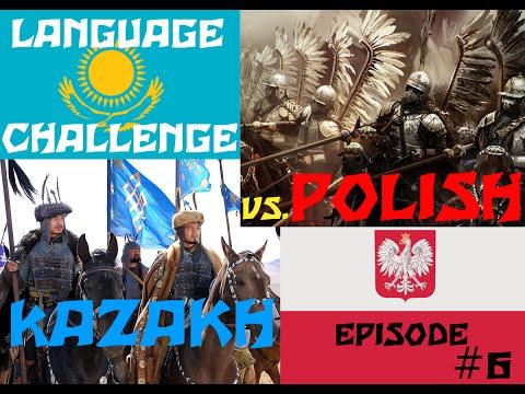 Language Challenge#6 - Kazakh vs Polish