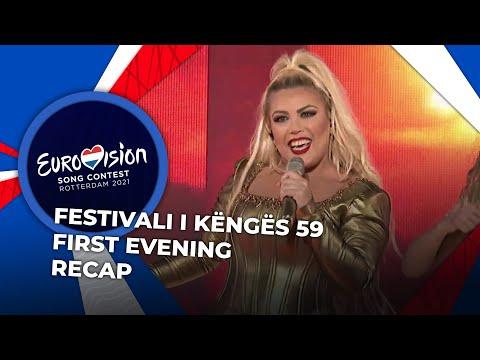Festivali i Këngës 2020 (Albania) | First Evening | RECAP