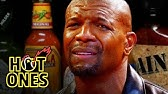 Terry Crews Hallucinates While Eating Spicy WingsHot Ones