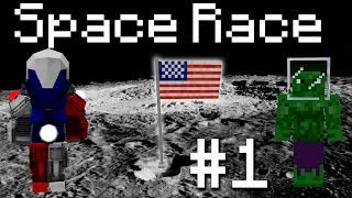 Galacticraft Space Race - Born in the USA! #1