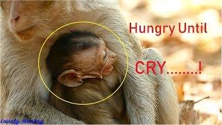BreakHeart! Who Understand Baby Eleno Feeling? Baby Eleno Cry Loudly&Angry Mom Not Nurse Too Long