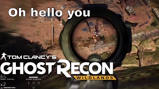 Sniping An Entire Village Feels Oddly Satisfying... - GHOST RECON WILDLANDS (beta) Sniper Gameplay