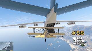 GTA V--58.BÖLÜM--KÜÇÜK TÜRBÜLANS---Trevor Tarım Uçağıyla Kargo Uçağına Dalıyor