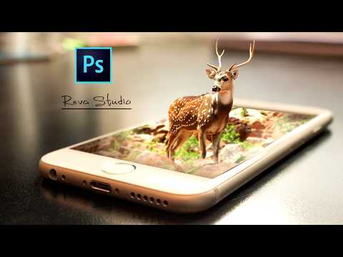 How to Make 3D manipulation effect Photoshop CC tutorial | 3D Pop Out Effect thumbnail