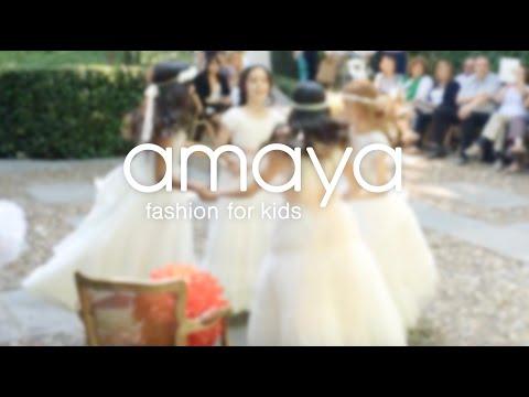 Amaya Moda Infantil. Comunión 2015