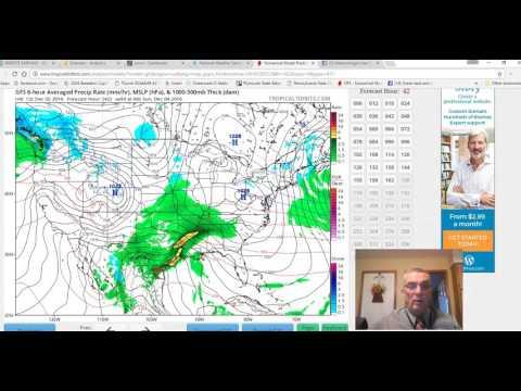 Bi Polar European & Gfs Weather Models.