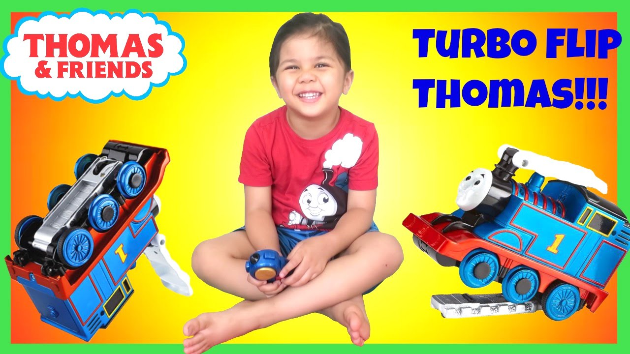 Thomas And Friends Turbo Flip Thomas Remote Control Train Unboxing