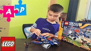 LEGO NEXO KNIGHTS 70320 АЭРО-АРБАЛЕТ ААРОНА. Нексо найтс лего українською.