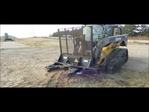 2011 Dymax Ranch Axe skid steer tree shear for sale | no-reserve Internet  auction December 29, 2016