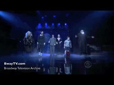 Addams Family Musical  When Youre An Addams David Letterman 462010