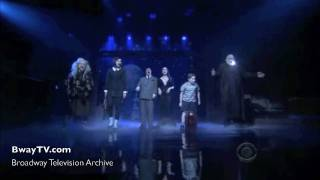 Addams Family Musical - When You're An Addams (David Letterman 4-6-2010)