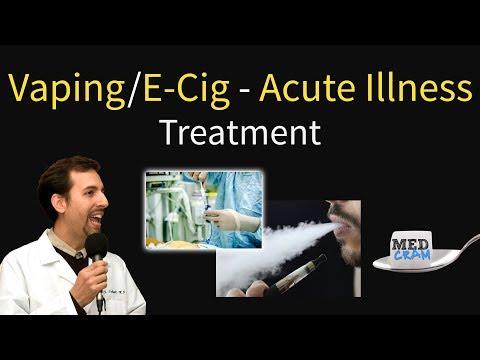 Vaping / E-Cigarette Lung Illness Diagnosis & Treatment