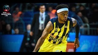 Bobby Dixon - Best moments 2017 - 2018  * Fenerbahce