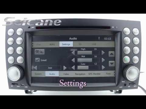 Mb slk200 slk280 slk350 slk55 2004 2012 aftermarket for Mercedes benz music system