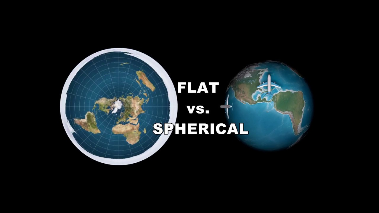 Image result for flat earth vs spherical