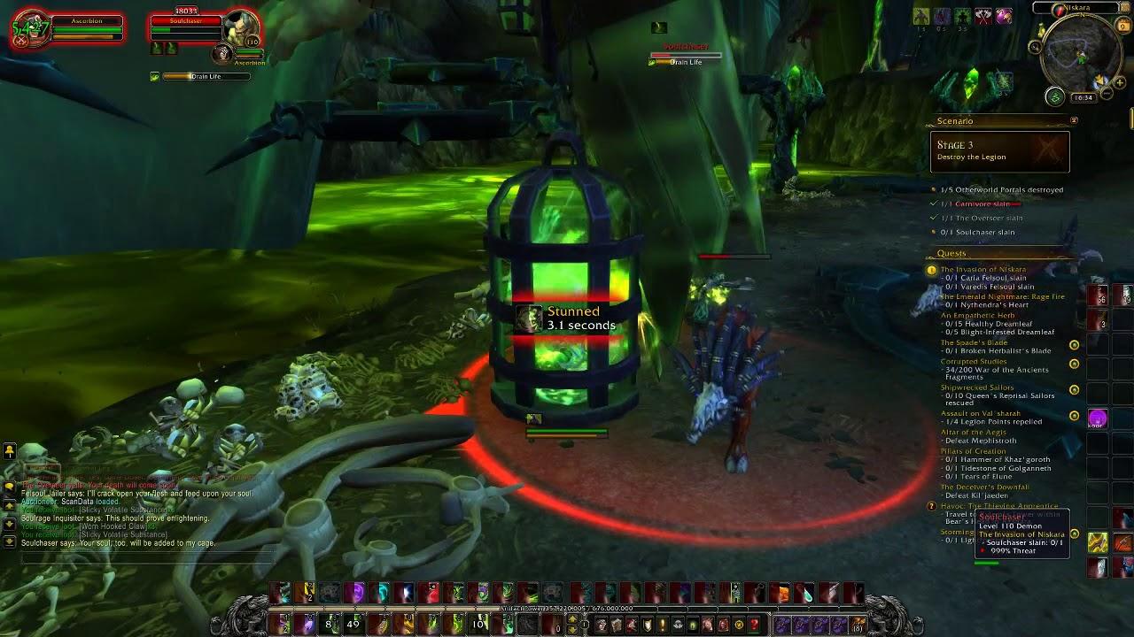 WoW Legion - End of Demon Hunter Class Hall questline - Slayer title