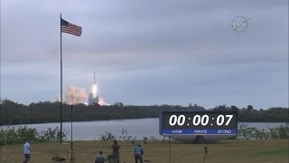 SpaceX blasts off ISS-bound cargo from NASA launchpad