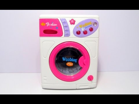 Toy Washing Machine LOTS OF FUN Review