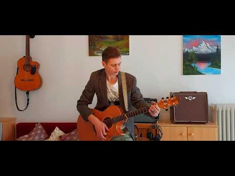 Мой друг художник и поэт (моя любовь сменила цвет) - К. Никольский, кавер, рок под гитару