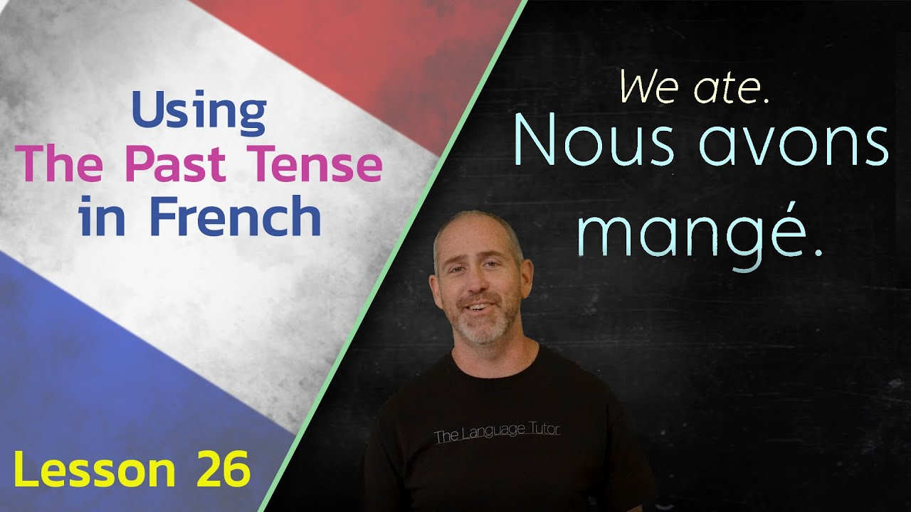 How to Use the Past Tense in French | The Language Tutor *Lesson 26*