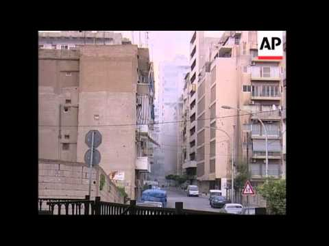 More on the fierce gunbattles in West Beirut
