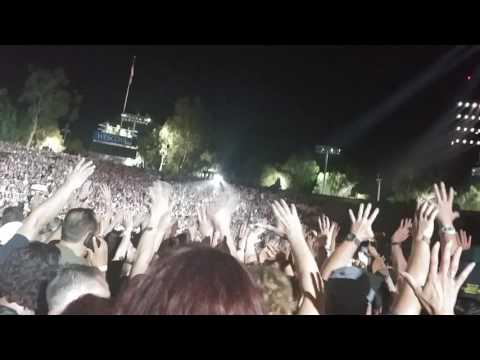 "U2 rose bowl Pasadena 5/20/17 ""I Will Follow"" partial"