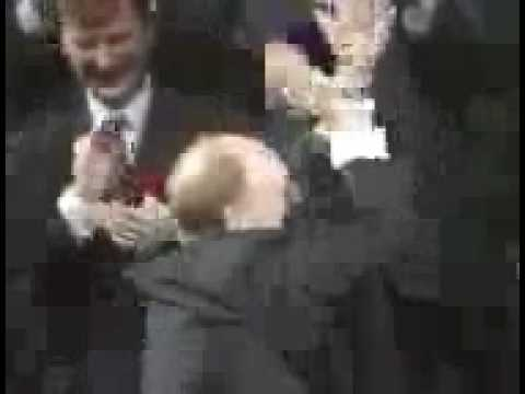 "UK General Election 1992 - Neil ""We're Alright"" Kinnock at the 1992 Sheffield Rally"