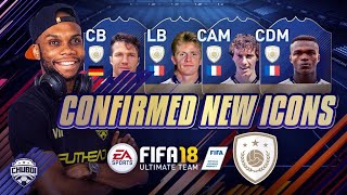 New fifa 18 icons confirmed! crazy position change icon stories!!!